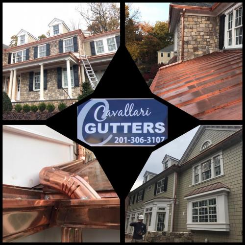 Copper Gutter Job